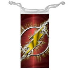 Flash Flashy Logo Jewelry Bag by Onesevenart