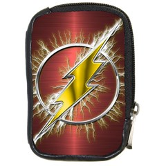 Flash Flashy Logo Compact Camera Cases by Onesevenart