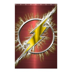 Flash Flashy Logo Shower Curtain 48  X 72  (small)  by Onesevenart