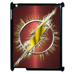 Flash Flashy Logo Apple Ipad 2 Case (black) by Onesevenart