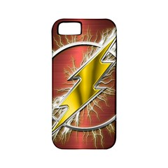 Flash Flashy Logo Apple Iphone 5 Classic Hardshell Case (pc+silicone) by Onesevenart