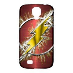 Flash Flashy Logo Samsung Galaxy S4 Classic Hardshell Case (pc+silicone) by Onesevenart