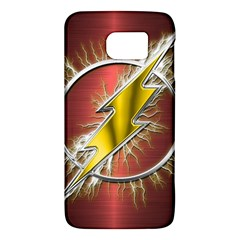 Flash Flashy Logo Galaxy S6 by Onesevenart