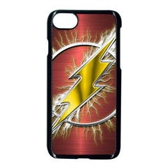 Flash Flashy Logo Apple Iphone 7 Seamless Case (black) by Onesevenart