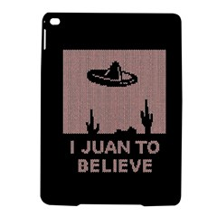I Juan To Believe Ugly Holiday Christmas Black Background Ipad Air 2 Hardshell Cases by Onesevenart