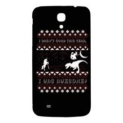I Wasn t Good This Year, I Was Awesome! Ugly Holiday Christmas Black Background Samsung Galaxy Mega I9200 Hardshell Back Case by Onesevenart