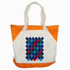 Minecraft Ugly Holiday Christmas Accent Tote Bag by Onesevenart