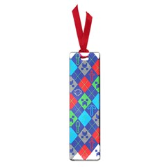 Minecraft Ugly Holiday Christmas Small Book Marks by Onesevenart