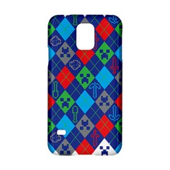 Minecraft Ugly Holiday Christmas Samsung Galaxy S5 Hardshell Case  by Onesevenart