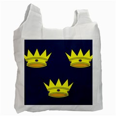 Flag of Irish Province of Munster Recycle Bag (Two Side)