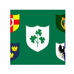 Ireland National Rugby Union Flag Small Satin Scarf (square) by abbeyz71