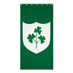 Ireland National Rugby Union Flag Shower Curtain 36  X 72  (stall)  by abbeyz71