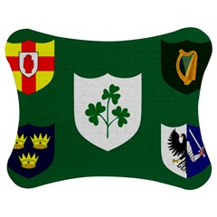 Ireland National Rugby Union Flag Jigsaw Puzzle Photo Stand (bow) by abbeyz71