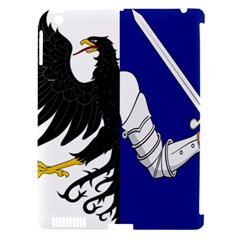 Flag Of Connacht Apple Ipad 3/4 Hardshell Case (compatible With Smart Cover) by abbeyz71