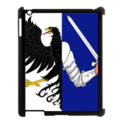 Flag Of Connacht Apple Ipad 3/4 Case (black) by abbeyz71