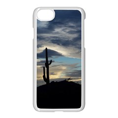 Cactus Sunset Apple Iphone 7 Seamless Case (white) by JellyMooseBear