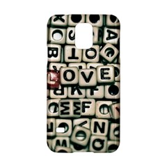 Love Samsung Galaxy S5 Hardshell Case  by JellyMooseBear