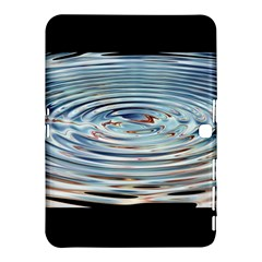 Wave Concentric Waves Circles Water Samsung Galaxy Tab 4 (10.1 ) Hardshell Case  by Vayuart