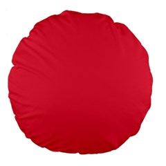 Neon Color   Brilliant Amaranth Large 18  Premium Flano Round Cushions by tarastyle