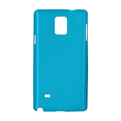 Neon Color   Brilliant Arctic Blue Samsung Galaxy Note 4 Hardshell Case