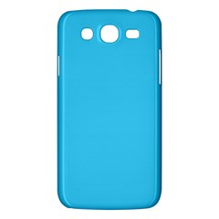 Neon Color   Brilliant Cerulean Samsung Galaxy Mega 5 8 I9152 Hardshell Case  by tarastyle