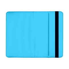 Neon Color   Brilliant Cerulean Samsung Galaxy Tab Pro 8 4  Flip Case by tarastyle