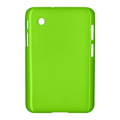 Neon Color   Brilliant Charteuse Green Samsung Galaxy Tab 2 (7 ) P3100 Hardshell Case  by tarastyle