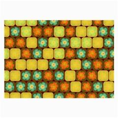 Random Hibiscus Pattern Large Glasses Cloth (2 Side) by linceazul