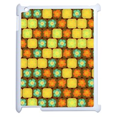 Random Hibiscus Pattern Apple Ipad 2 Case (white) by linceazul