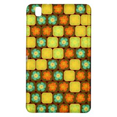 Random Hibiscus Pattern Samsung Galaxy Tab Pro 8 4 Hardshell Case by linceazul