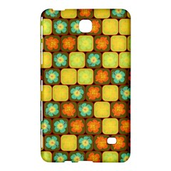Random Hibiscus Pattern Samsung Galaxy Tab 4 (7 ) Hardshell Case  by linceazul