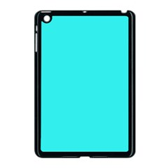 Neon Color   Brilliant Cyan Apple Ipad Mini Case (black) by tarastyle