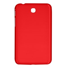 Neon Color   Brilliant Red Samsung Galaxy Tab 3 (7 ) P3200 Hardshell Case  by tarastyle