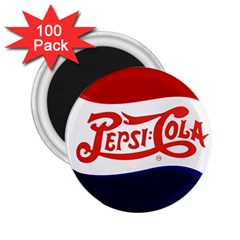 Pepsi Cola 2 25  Magnets (100 Pack)  by Onesevenart