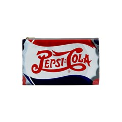 Pepsi Cola Cosmetic Bag (small)  by Onesevenart