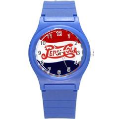 Pepsi Cola Round Plastic Sport Watch (s) by Onesevenart