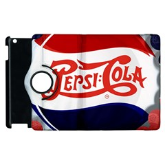 Pepsi Cola Apple Ipad 2 Flip 360 Case by Onesevenart