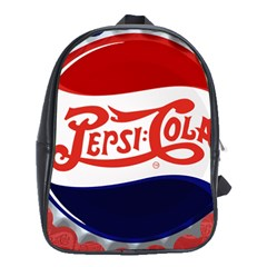Pepsi Cola School Bags (xl)  by Onesevenart