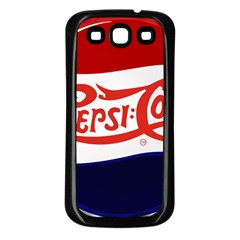 Pepsi Cola Samsung Galaxy S3 Back Case (black) by Onesevenart