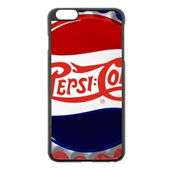 Pepsi Cola Apple Iphone 6 Plus/6s Plus Black Enamel Case by Onesevenart