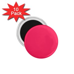 Neon Color   Light Brilliant Crimson 1 75  Magnets (10 Pack)  by tarastyle
