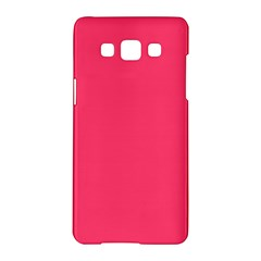 Neon Color   Light Brilliant Crimson Samsung Galaxy A5 Hardshell Case  by tarastyle