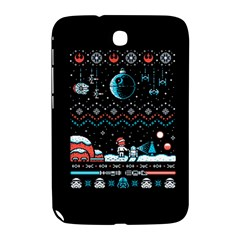 That Snow Moon Star Wars  Ugly Holiday Christmas Black Background Samsung Galaxy Note 8 0 N5100 Hardshell Case  by Onesevenart
