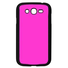 Neon Color   Light Brilliant Fuchsia Samsung Galaxy Grand Duos I9082 Case (black) by tarastyle