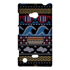 Ugly Summer Ugly Holiday Christmas Black Background Nokia Lumia 720 by Onesevenart