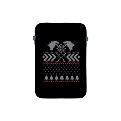 Winter Is Coming Game Of Thrones Ugly Christmas Black Background Apple Ipad Mini Protective Soft Cases by Onesevenart
