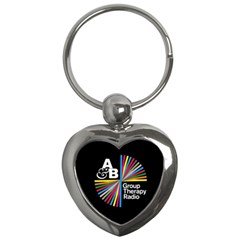 Above & Beyond  Group Therapy Radio Key Chains (heart)  by Onesevenart