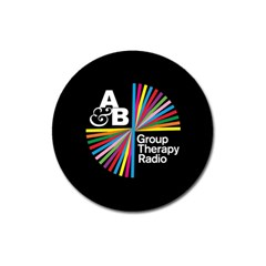 Above & Beyond  Group Therapy Radio Magnet 3  (round) by Onesevenart