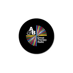 Above & Beyond  Group Therapy Radio Golf Ball Marker (4 Pack) by Onesevenart