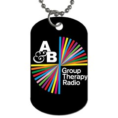 Above & Beyond  Group Therapy Radio Dog Tag (two Sides) by Onesevenart